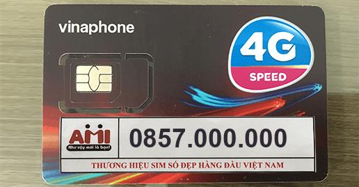 sim số đẹp 857000000